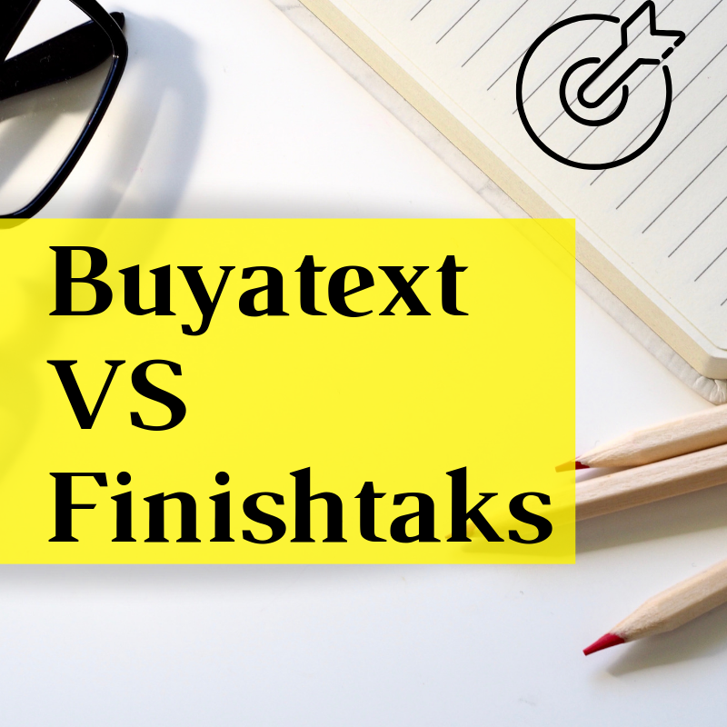 Buyatext vs Finishtaks