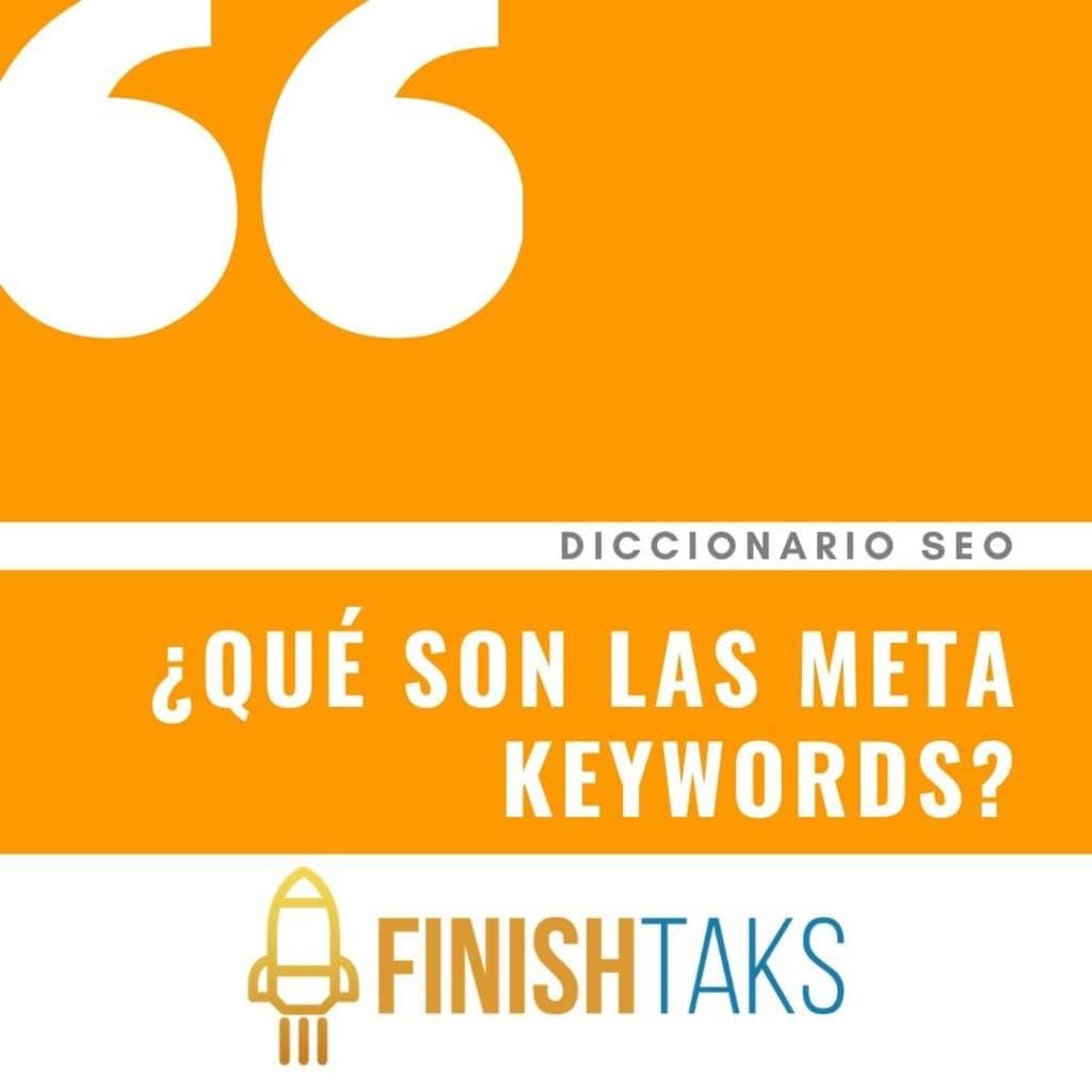 ¿Qué son las meta Keywords?