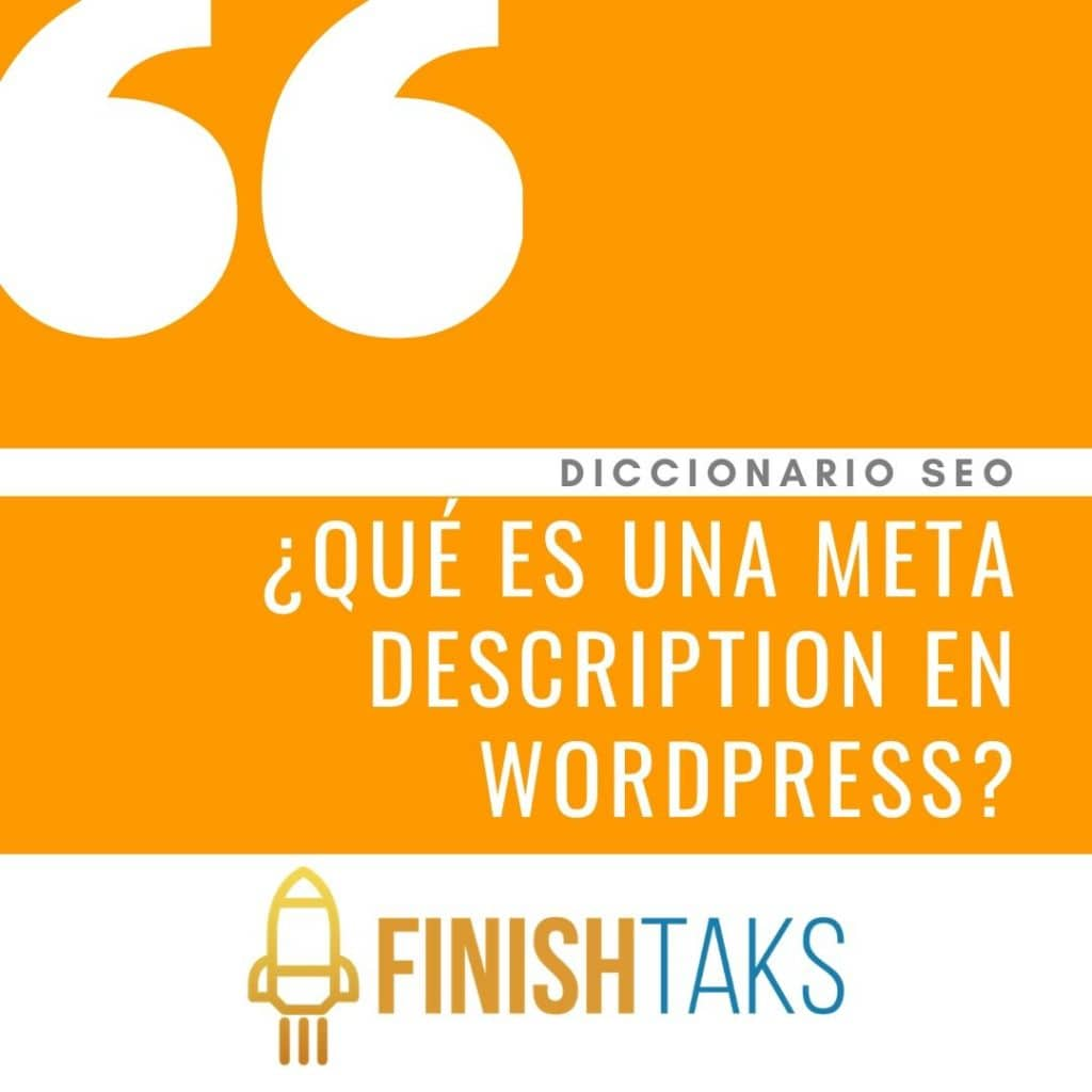 ¿Qué es una Meta Description en WordPress?