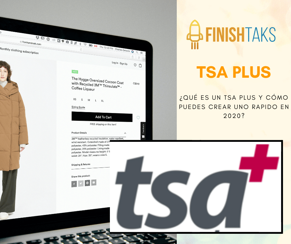¿Qué es un TSA Plus y cómo puedes crear uno rápido en 2020?